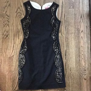 Classic black Lilly Pulitzer shift